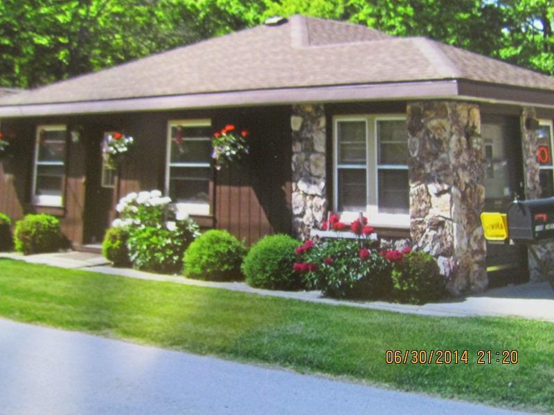 Living Quarter Entrance Behind Office